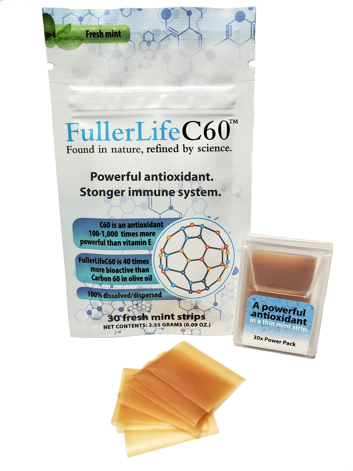 Carbon 60 (C60) Antioxidant from FullerLifeC60 ...