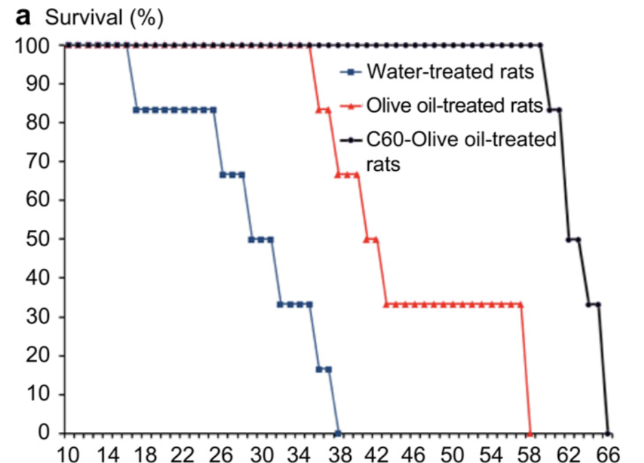The Prolongation of the Lifespan of Rats by Repeated Oral Administration of C60 Fullerene